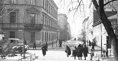 (#2) ul. Piłsudskiego, widok z Plant