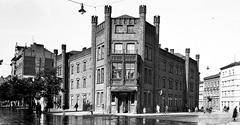 (#23) ul. Dunajewskiego, widoczny nieistniejący już Hotel Krakowski