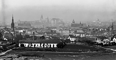 (#40) Widok na Kraków (Podgórze) z kopca Krakusa (Kraka)