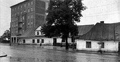 (#44) ul. Tadeusza Kościuszki, widoczne… wiejskie domy