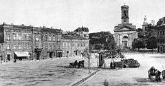 (#72) Rynek Podgórski i dwa kościoły św. Józefa