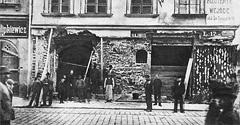 (#77) ulica Floriańska, kamienica w remoncie