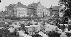 (#88) Aleja Mickiewicza i budynek Zespołu Szkół Mechanicznych Nr 1