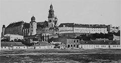 (#90) Widok na Wawel z Placu na Groblach