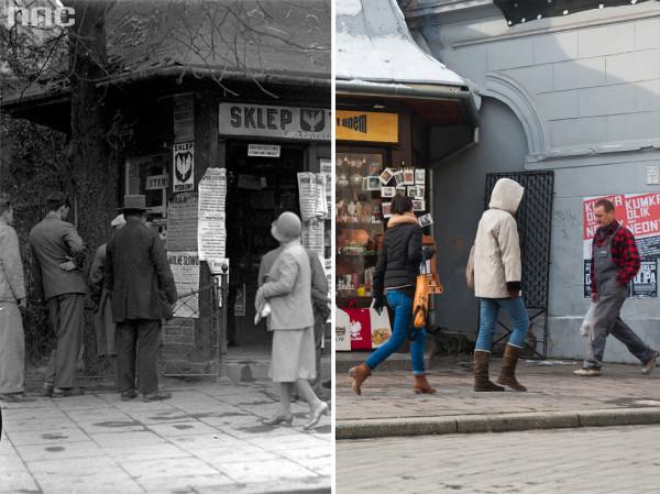 Stuletni kiosk na Siennej